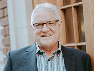 Pastor Mark Stevenson